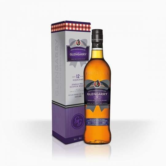 Whisky Glengarry 12YO 46% 0,7l