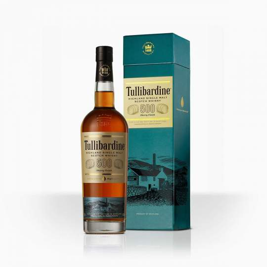 Whisky Tullibardine 500 Sherry Finish 43% 0,7l