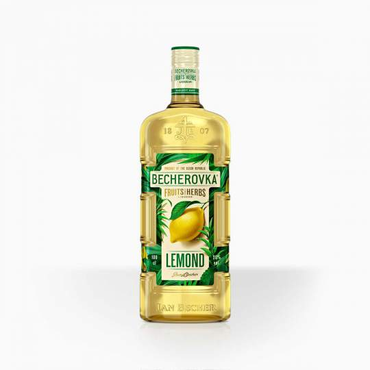 Likér Becherovka Lemond 20% 0,5l