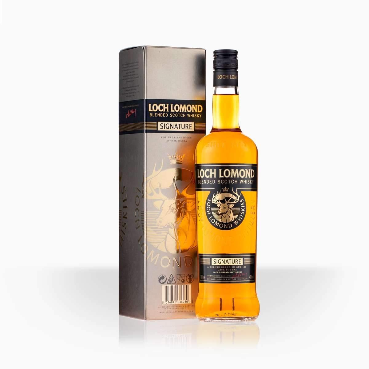 Whisky Loch Lomond Signature 40% 0,7l
