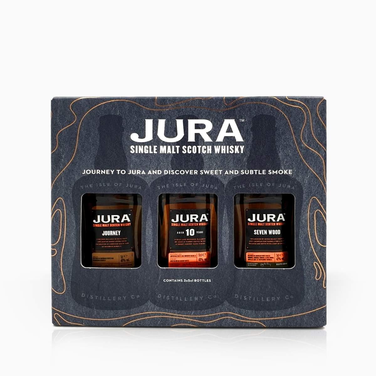 Whisky Mini Set Isle Of Jura 40% 0,15l