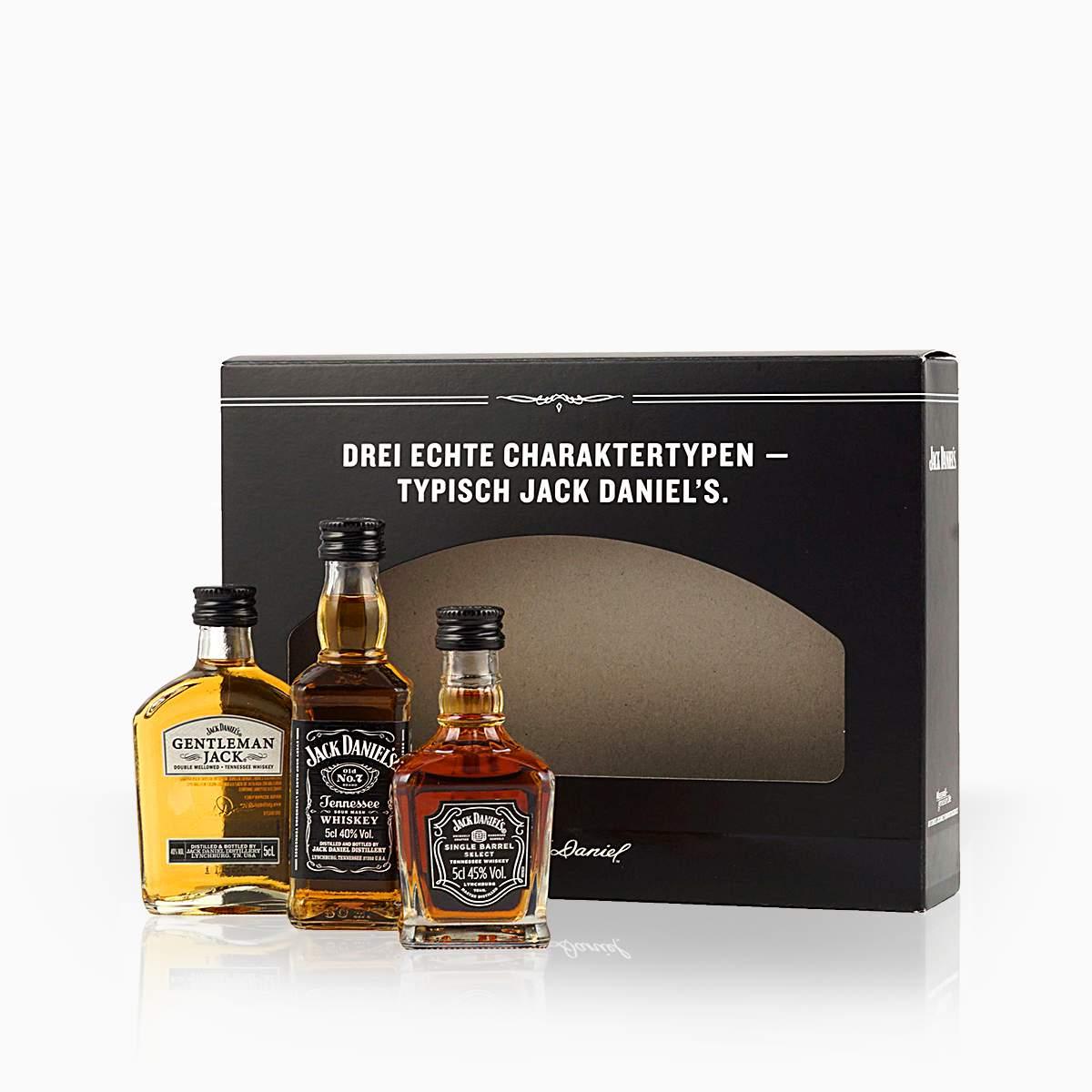 Whisky Mini Set Jack Daniels 41,67% 0,15l
