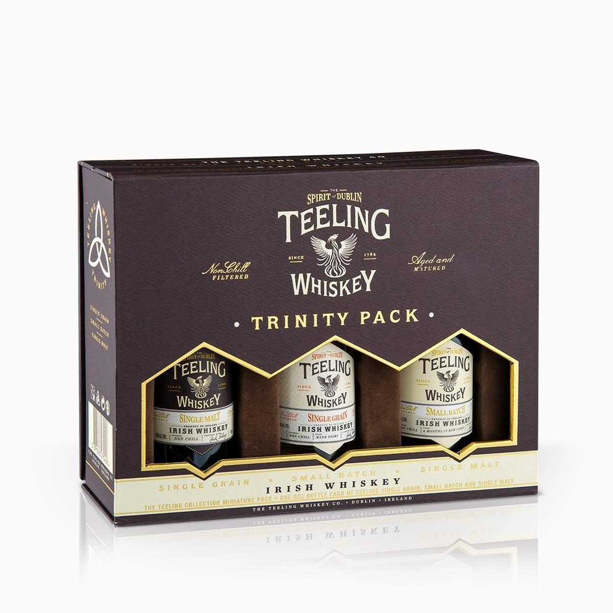 Whisky Mini Set Teeling Trinity 46% 0,15l
