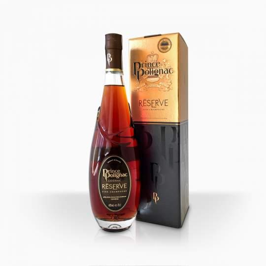 Koňak Prince Hubert de Polignac Reserve Fine Champagne 40% 0,7l