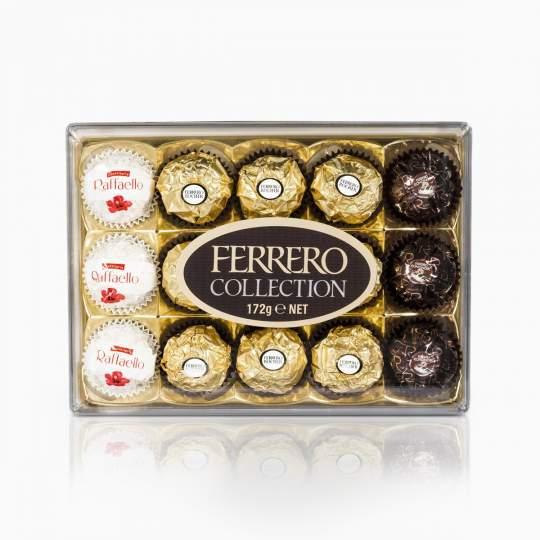 Ferrero Collection výber plnených bonbónov 172g