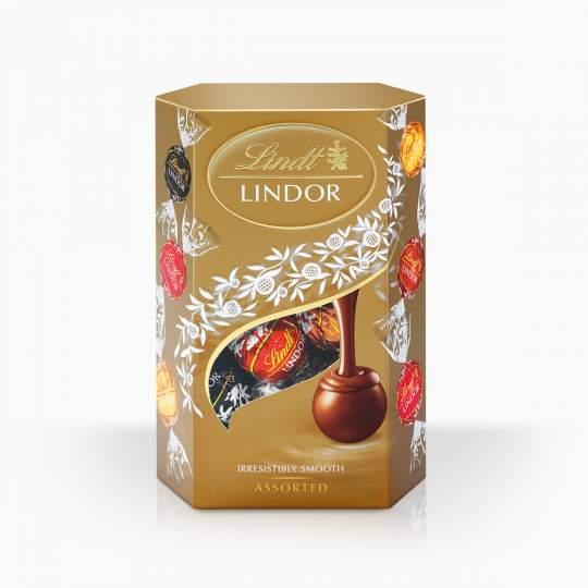 Lindor Assorted výber najobľúbenejších príchutí bonbónov 200g