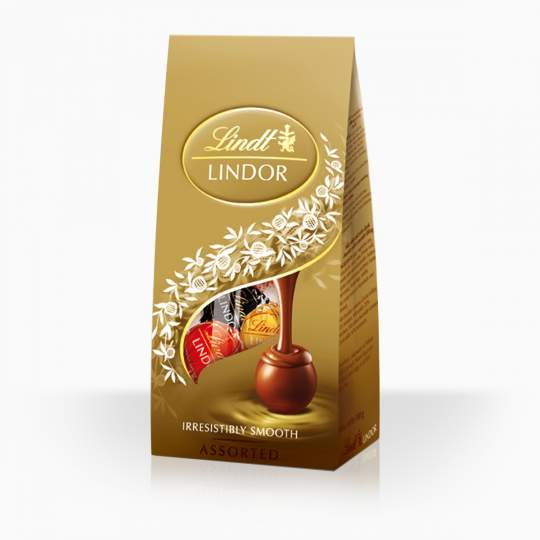 Lindor Assorted výber najobľúbenejších príchutí bonbónov 100g