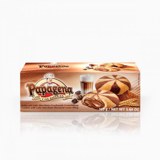 Papagena Cookies With Latte Macchiato 160g