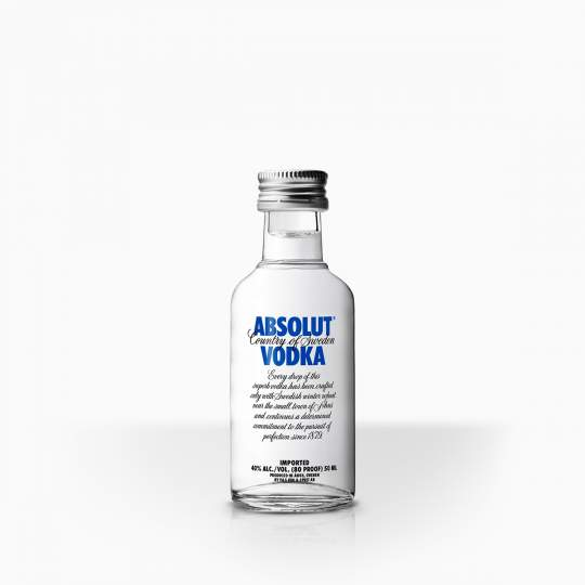 Vodka Absolut 40% 0,05l