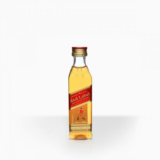 Whisky Johnie Walker Red Label 40% 0,05l