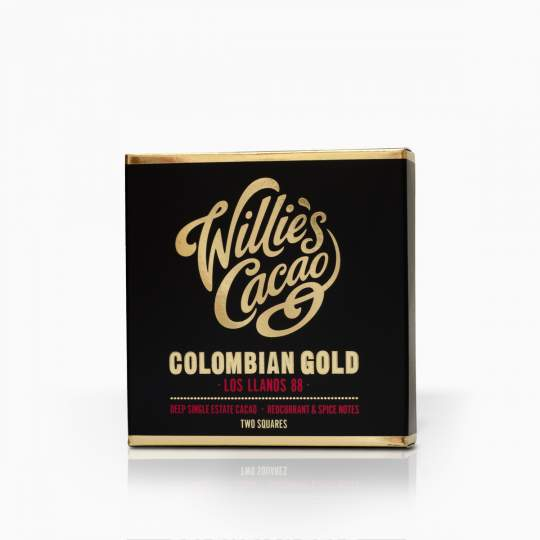 Willie´s Cacao Colombian Gold 88% 50g