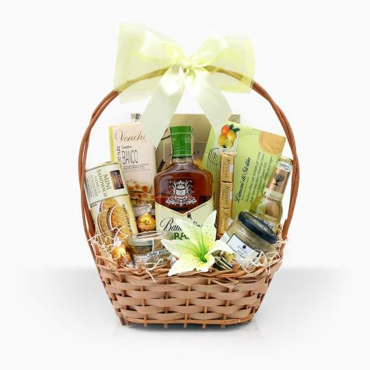 "Gift Basket ""Lime Bossa Nova"""