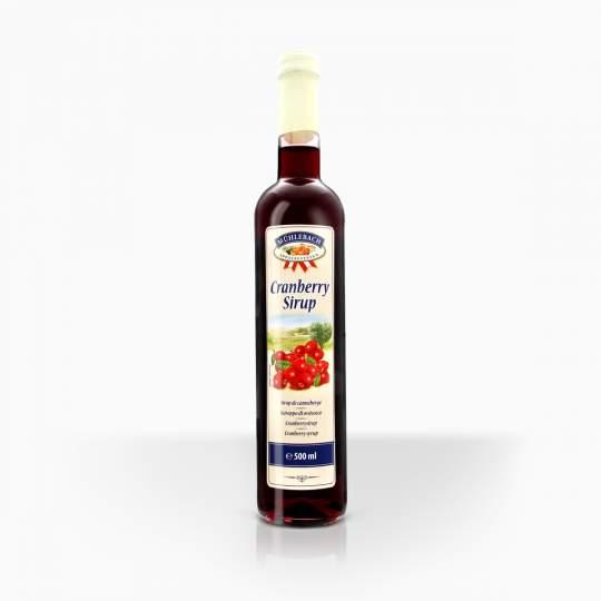 Muhlebach brusnicový sirup 0,5l