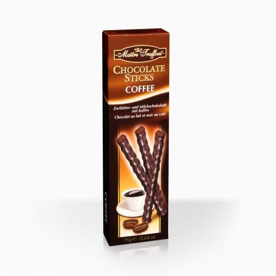 Maitre Truffout čokoládové tyčinky s príchuťou kávy 75g