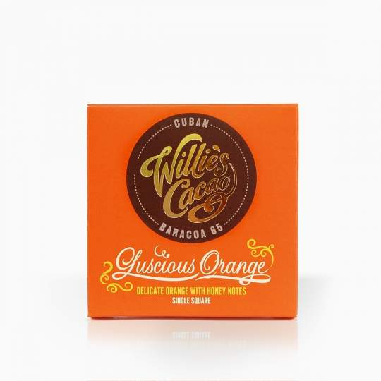 Willie´s Cuban Baracoa Orange horká čokoláda s pomarančom 65% 50g