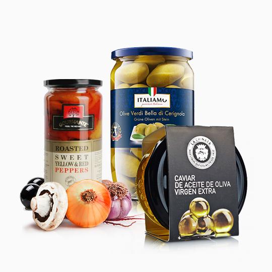 Antipasti, Preserves and Pickles