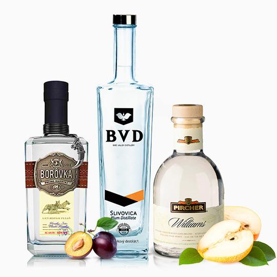 Ovocné destiláty a pálenky