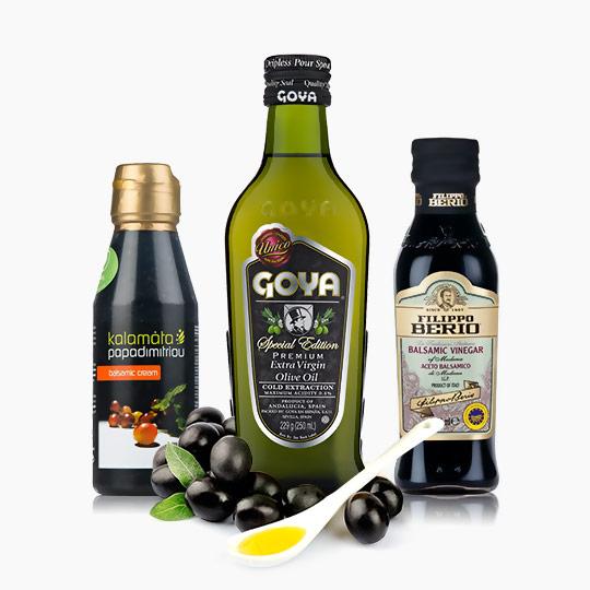 Olej a omáčka
