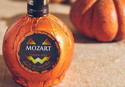 Halloween Mozart Pumpkin Liquor
